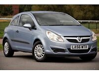 2007 Vauxhall Corsa 1.0 i 12v Life 3dr+FREE WARRANTY+FULL SERVICE HISTORY+AIRCON+LOW GENUINE MILEAGE