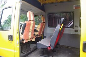 Mini Bus Seats from Citroen Relay