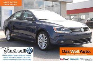 2012 Volkswagen Jetta 2.5L HIGHLINE + CUIR + JAMAIS ACCIDENTÉ