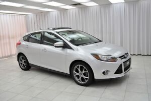 2013 Ford Focus TITANIUM 5DR HATCH w/ BLUETOOTH, HEATED LEATHER,