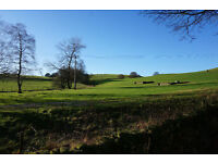 Luxury 2 bed lodge - amazing countryside views - new kitchen