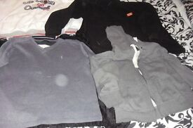 SELECTION OF MEN'S JUMPERS SIZE LARGE + EXTRA LARGE