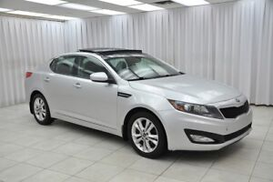 2013 Kia Optima EX GDi SEDAN w/ BLUETOOTH, HEATED LEATHER, DUAL