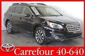2015 Subaru Outback 2.5i Limited GPS+Cuir+Toit Ouvrant+Camera de
