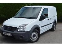 FORD TRANSIT CONNECT T200 LR CDPF VAN NO VAT (white) 2010