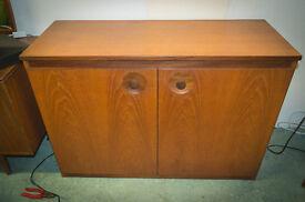 Vintage retro mid century modern meredew tv cabinet