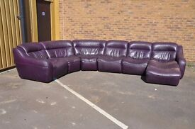 Huge and unique Leather sofa