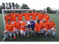 NEW TO LONDON? PLAYERS WANTED FOR FOOTBALL TEAM. FIND A SOCCER TEAM IN LONDON. Ref: trw2