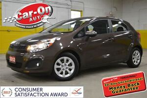 2012 Kia Rio LX+ HATCHBACK AUTO Heated seats