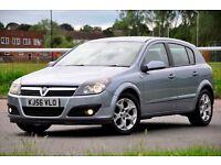 2006 Vauxhall Astra 1.6 i 16v SXi 5dr FULL SERVICE HISTORY+READY TO DRIVE AWAY+LONG MOT