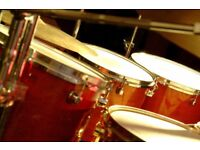 Drum lessons, private studio based just outside Ongar Essex