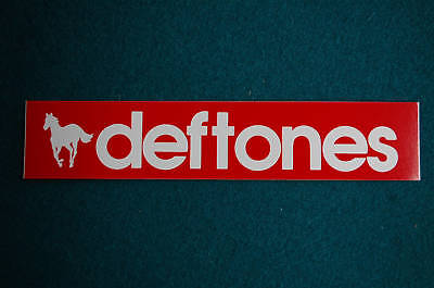 Deftones Sticker Decal (S140) Rock Car Truck Window Bumper