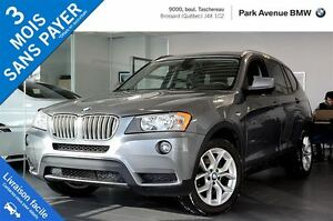 2013 BMW X3 xDrive28i / Toit Panoramique