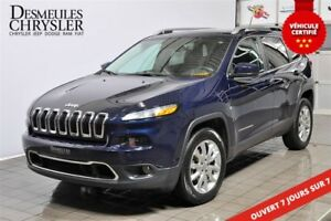 2015 Jeep Cherokee LIMITED**GR TECHNOLOGIE**REMORQUAGE