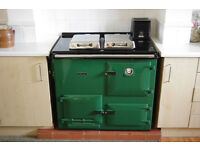 Rayburn Nouvelle Gas CH Boiler and Cooker