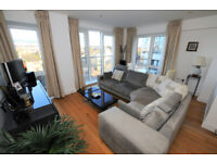 A 2 bed 2 bath, furnished, fourth floor apartment in this very popular block adjacent to the Thames.