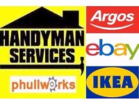HANDYMAN SERVICES - TV BRACKET / CARPENTER / FLAT PACK / SLIDING DOORS IKEA FLATPACK / PLUMBER