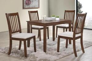 5PC Dinette with Upholstered Chairs (ME225)