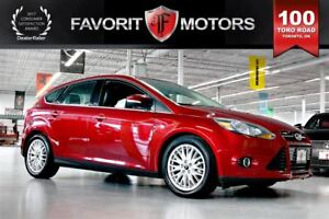 2013 Ford Focus Titanium FLEX FUEL | NAV | BACK CAM | HEATED SEA