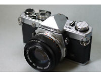 olympus om1 manual analog 35mm film camera student lomo lomography