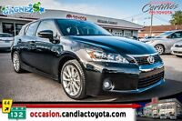 2011 Lexus CT 200h GROUPE TECHNO * TOIT * CUIR * NAV * MAGS *