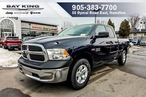 2017 Ram 1500 SXT, 4X4, 5.7L HEMI V8, QUAD CAB, POWER WINDOWS