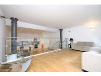 ENORMOUS FACTORY WAREHOUSE CONVERSION, ONE BEDROOM APARTMENT, SEPARATE STUDY, SHORT WALK TO TUBE.