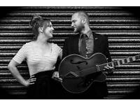 Lively Pop/Jazz/Blues Wedding Band (DUO) Available for bookings