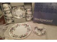 Beautiful vintage Wedgwood hathaway rose coffee set
