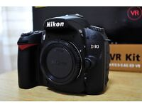 Nikon d90 camera, only body with accessories