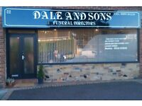 funeral business franchise and take over opportunitys