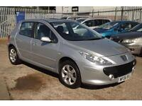 PEUGEOT 307 1.6 HDi 110 S (silver) 2006