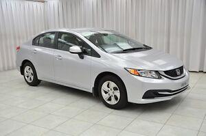 2013 Honda Civic LX SEDAN w/ BLUETOOTH, HEATED SEATS, A/C & USB/