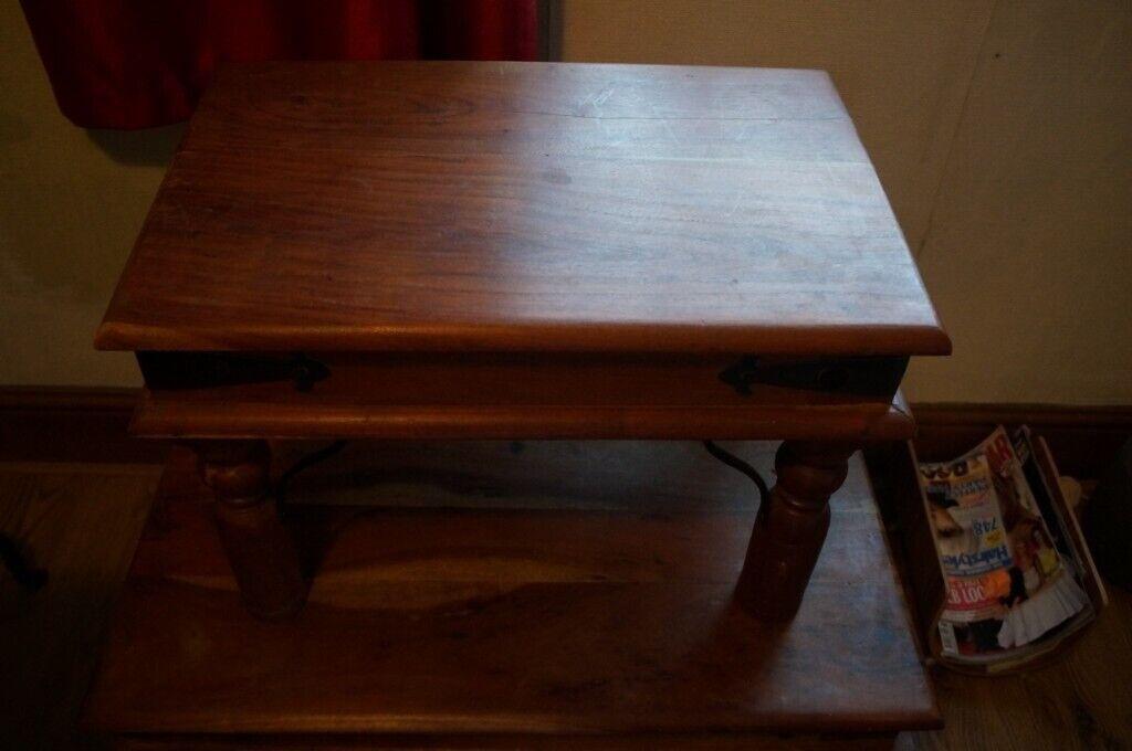 Sheesham Teak Indian Wood Coffee Table Small In Pontypridd Rhondda Cynon Taf Gumtree
