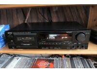 Denon DRM - 740 Cassesste Deck / Recorder 3 HEAD , bias fine, 3 motors