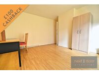 £100 cashback. Lovely 3 double bedroom apartment with separate lounge in Oval - SW9