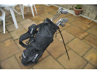 Gents RH clubs for sale..Drivers 1 & 3 by Wilson..Irons 3 to 9 inc Sand & Pitching wedges by Taylor.