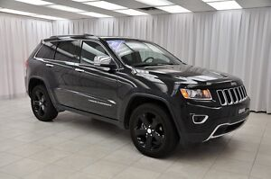2015 Jeep Grand Cherokee LIMITED 4x4 SUV w/ LEATHER, NAV, BLUETO