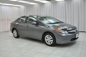"2012 Honda Civic """"ONE OWNER"""" LX SEDAN w/ BLUETOOTH, A/C, POWER"