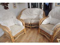 Cane / Conservatory Furniture for sale - Good Condition