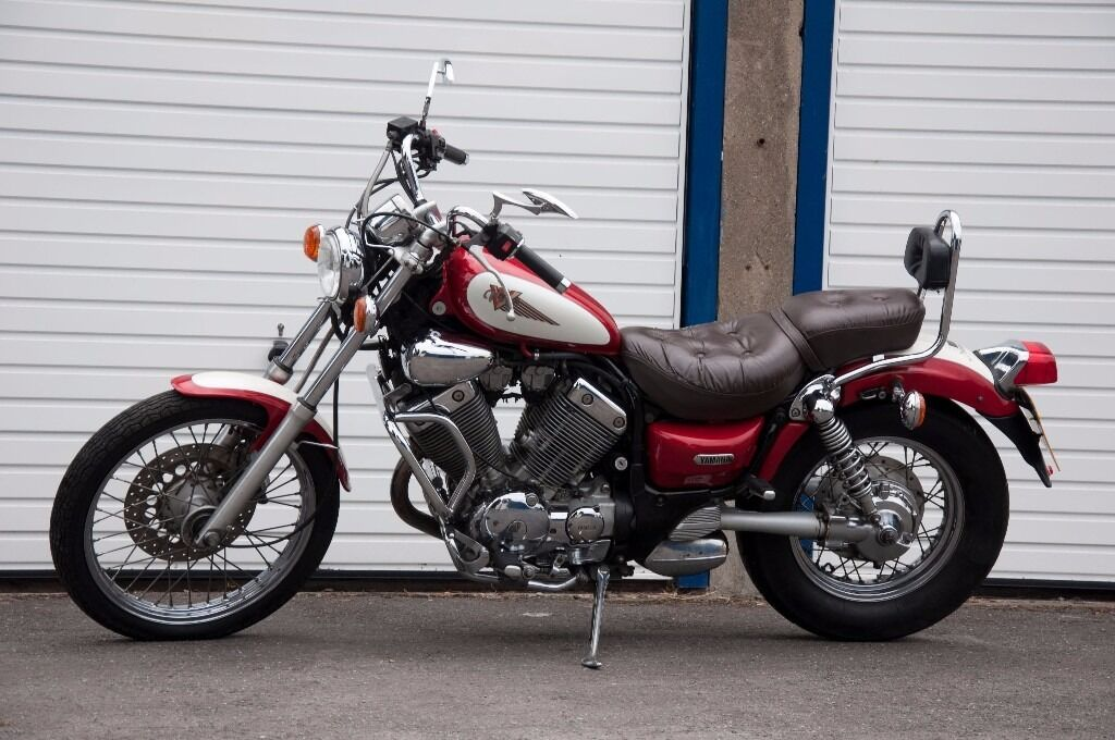 yamaha virago 535 low millage cruiser chopper in oxford. Black Bedroom Furniture Sets. Home Design Ideas