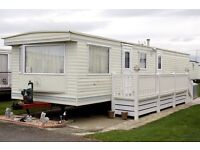 Static caravan for rent in towyn north wales