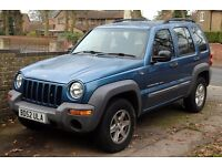 2002 Jeep Cherokee for sale. Ideal for right person to repair & restore or for spares/parts