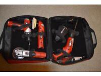 12v cordless power tool set.