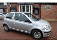 TOYOTA YARIS 1.0 T3 VVT-I 3d 64 BHP COMES WITH 2 KEYS (silver) 2004