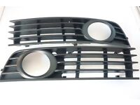 pair of audi a4 estate front foglight grills
