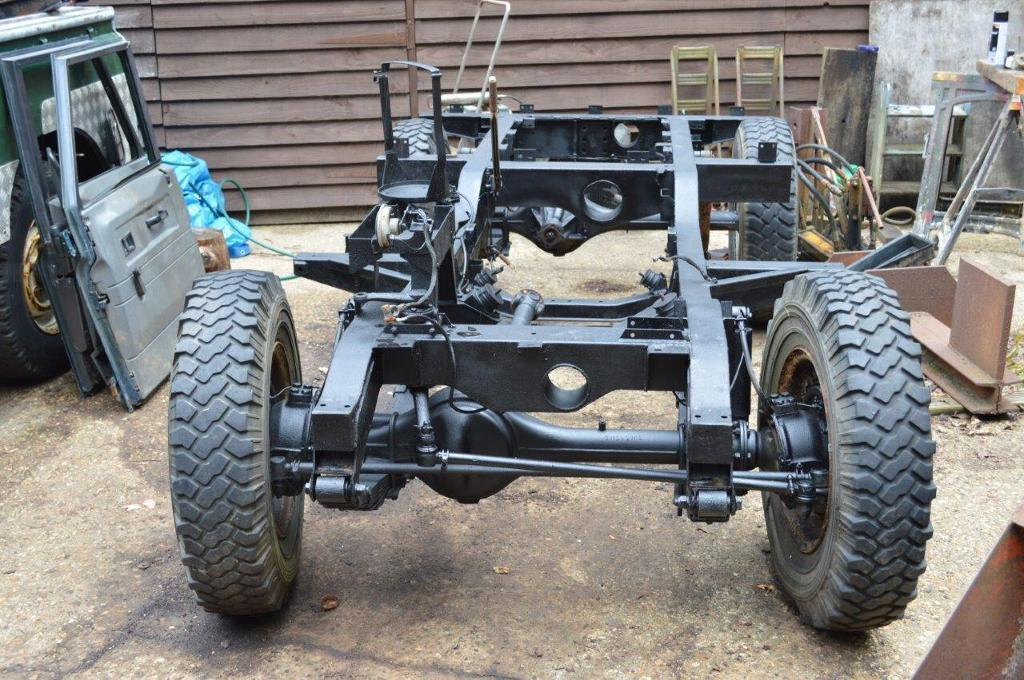 1971 Land Rover Series 3 Chassis Engine Amp Parts In