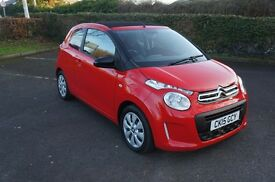 ** 2015 CITROEN C1 1.0 AIRSPACE FEEL ** Free Road Tax - SOFT TOP ROOF cars