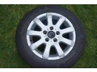 "VW Golf 15"" Alloy Wheel - MK5 (2004-2009)"