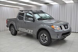 2016 Nissan Frontier PRO-4X 4x4 4DR 5PASS CREW CAB w/ HEATED LEA
